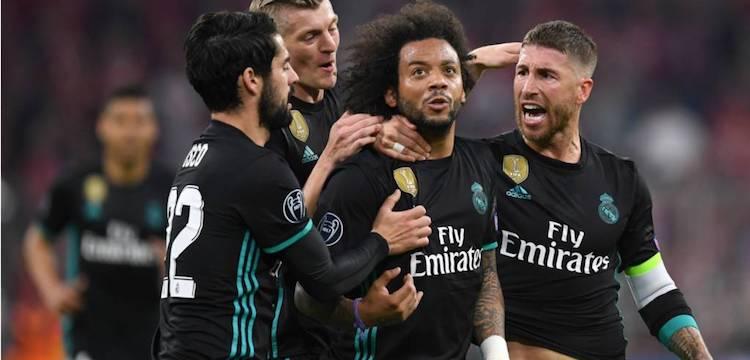 Bayern Munich versus Real Madrid