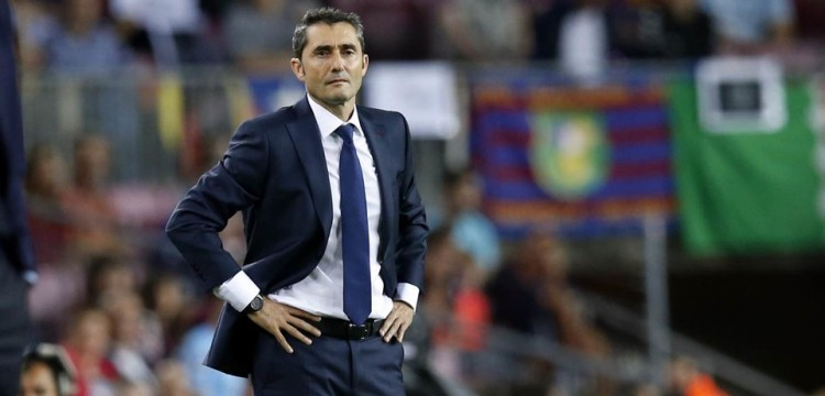 Ernesto Valverde changes FC Barcelona