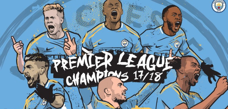 Manchester City wins the 2017-2018 Premier League