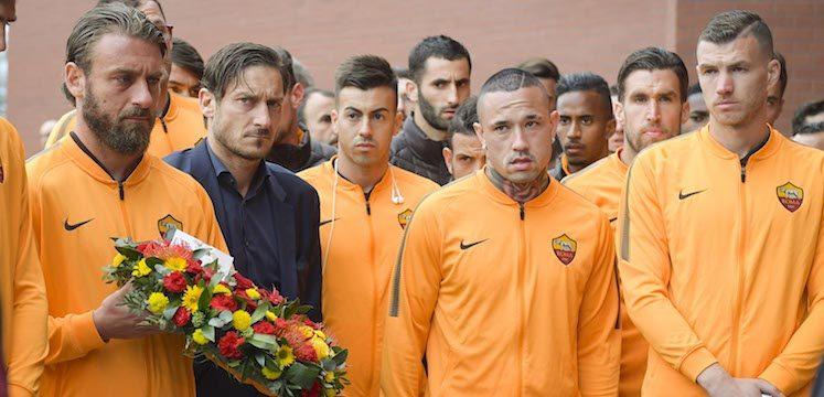 As Roma at Hillsborough memorial