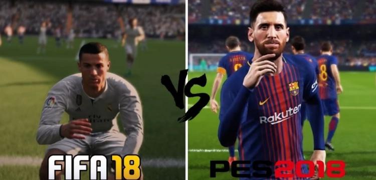 FIFA versus PES