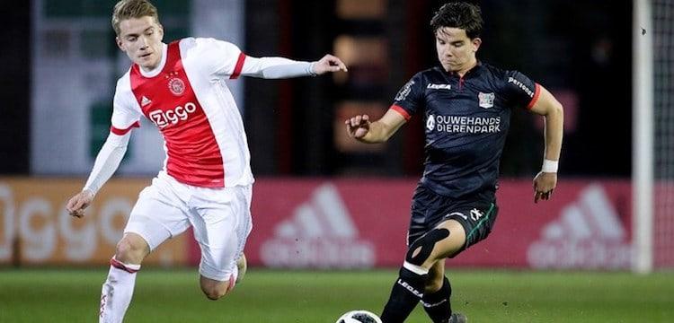 Jong Ajax versus NEC Nijmegen