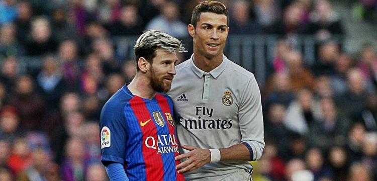 Lionel Messi versus Cristiano Ronaldo