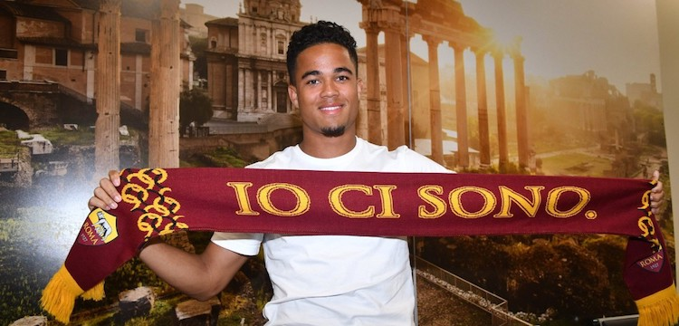 AS Roma signs Justin Kluivert