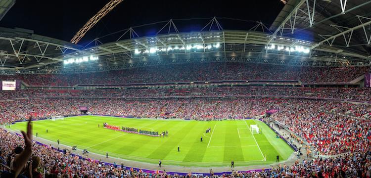 Fabian Delph at Wembley