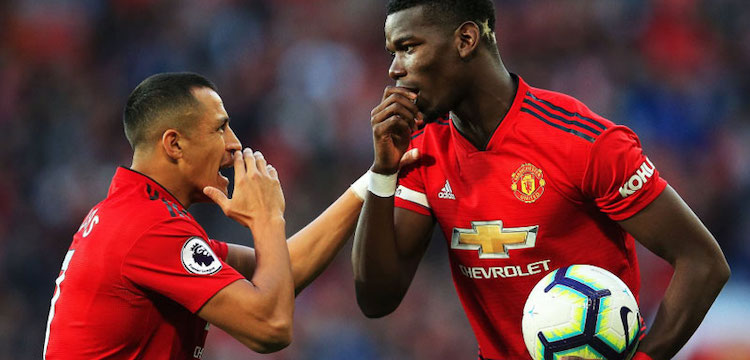 Sanchez and Pogba at United