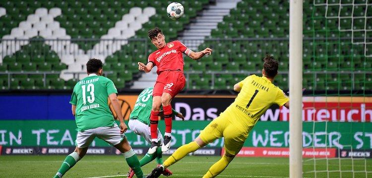 Havertz scores versus Werder Bremen