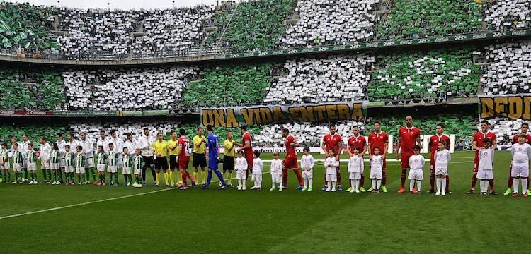 Seville Derby by La Liga Restart