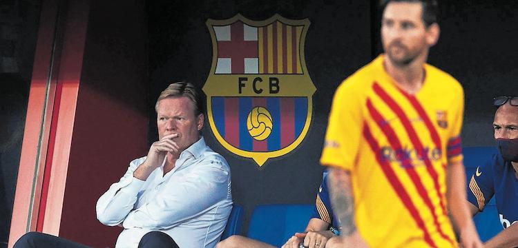 Ronald Koeman at Barca
