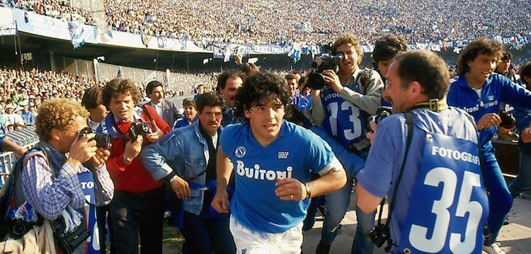 Maradona at Napoli