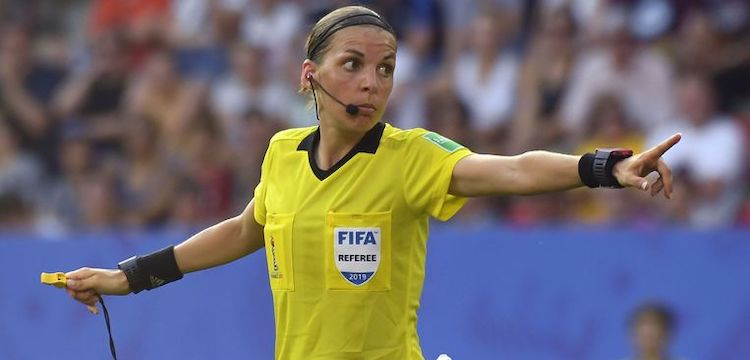 Female referee Frappart